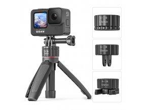 SET malý voděodolný stativ, držák a selfie tyč v jednom pro GoPro 1
