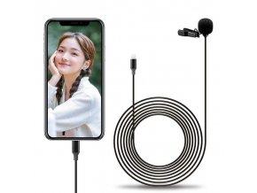 Digitální klopový mikrofon SAIREN S Lav L1 pro Iphone Lighting 6m 5