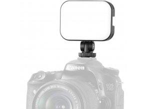 VIJIM VL100C LED videosvětlo na kameru, dobíjecí s regulací intenzity i teploty bílé USB C 2