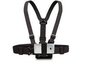 Hrudní pás Chest mount pro akční kamery i telefon 0