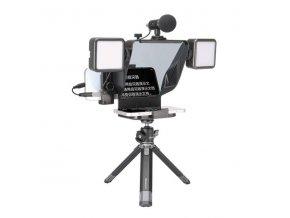 Universální přenosný Teleprompter pro telefony Ulanzi PT 16 15