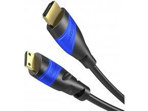 Kabel MINI HDMI na HDMI 5m 4K HDMI 2.0 kabel 1