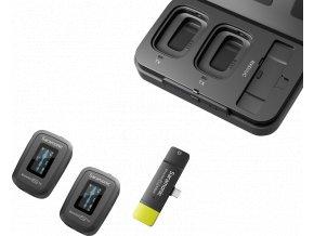 Blink 500 PRO B6 2.4GHz bezdrátový USB C pro dva (RX+TX+TX) 1