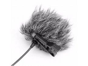 mrtvá kočka deadcat ochrana proti větru klopový mikrofon