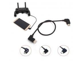 Propojovací OTG pro drony DJI SPARK a Mavic Mini - pro telefony a tablety