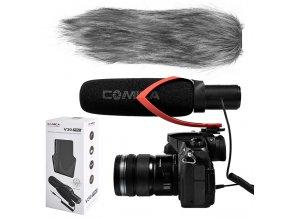 Shotgun mikrofon ke kameře i DLSR Comica CVM V30