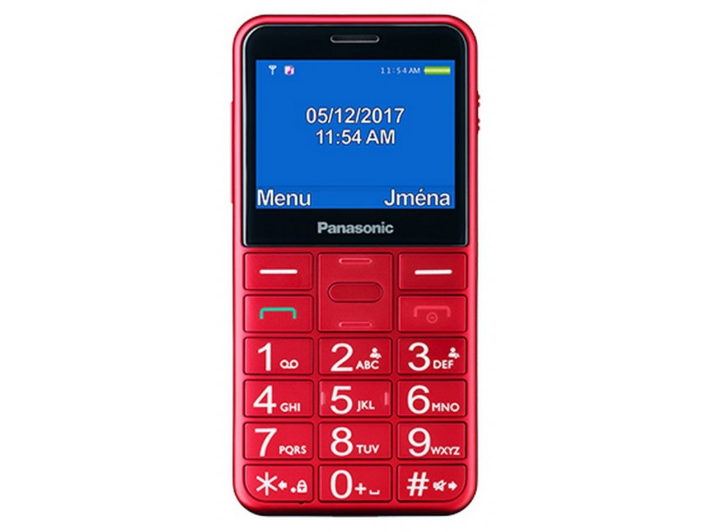 Panasonic KX-TU150EXR Red