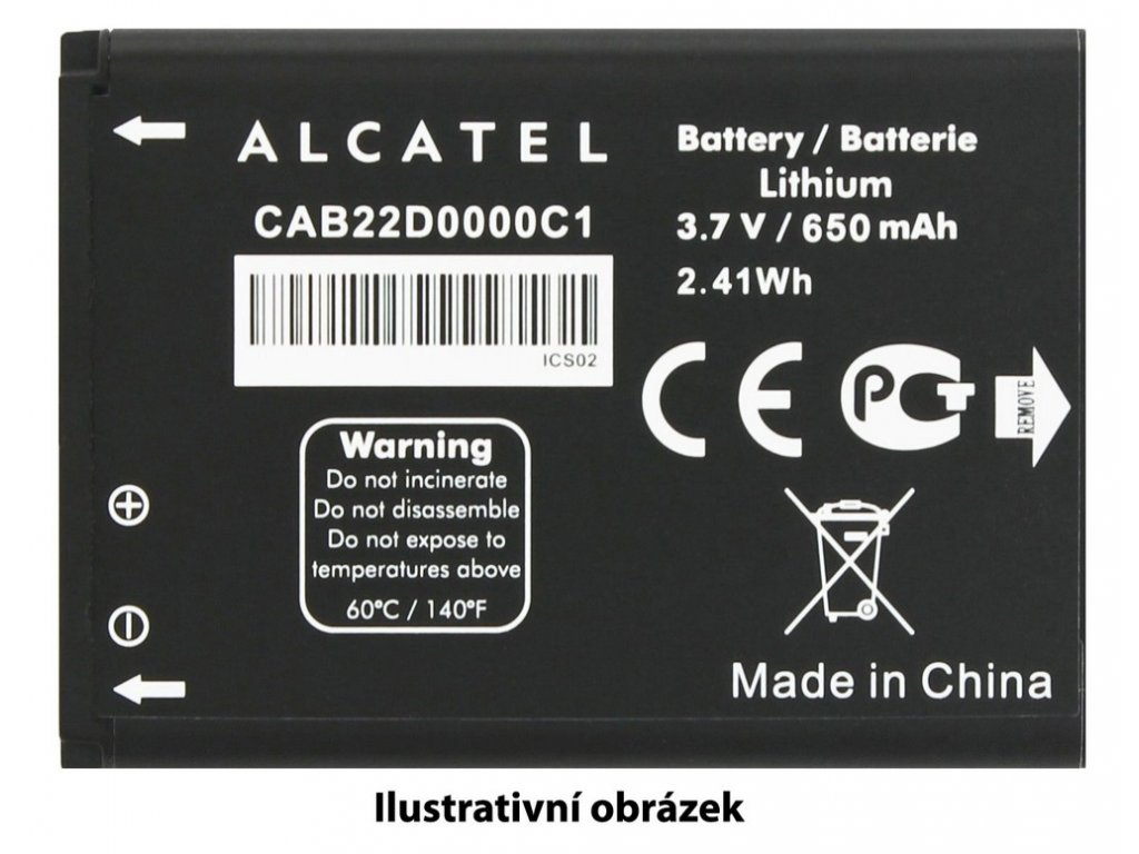 ALCATEL ONETOUCH Baterie 1.800mAh 6030D Idol
