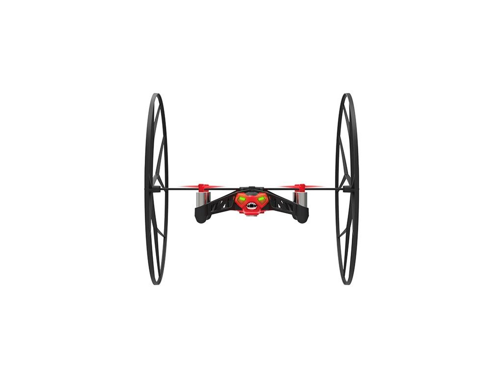 Parrot MiniDrone Rolling Spider, Red