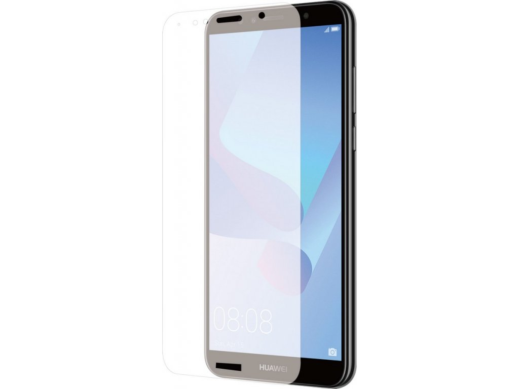 Azuri Curved Glass Rinox Huawei Y6 (2018), Clear