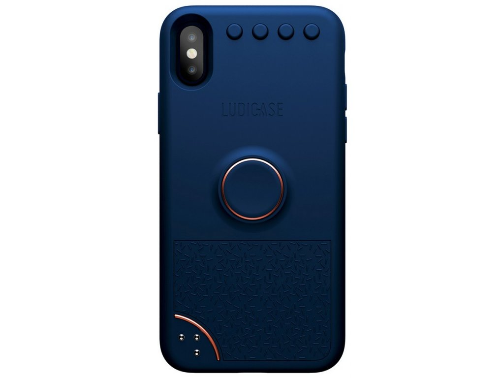 LUDICASE Pocket Playground Case iPhone X Blue