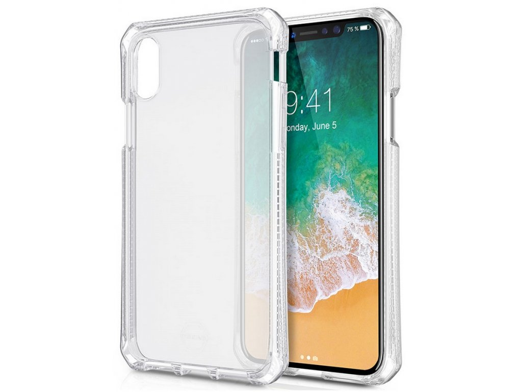 ITSKINS Spectrum gel 2m Drop iPhone X, Clear
