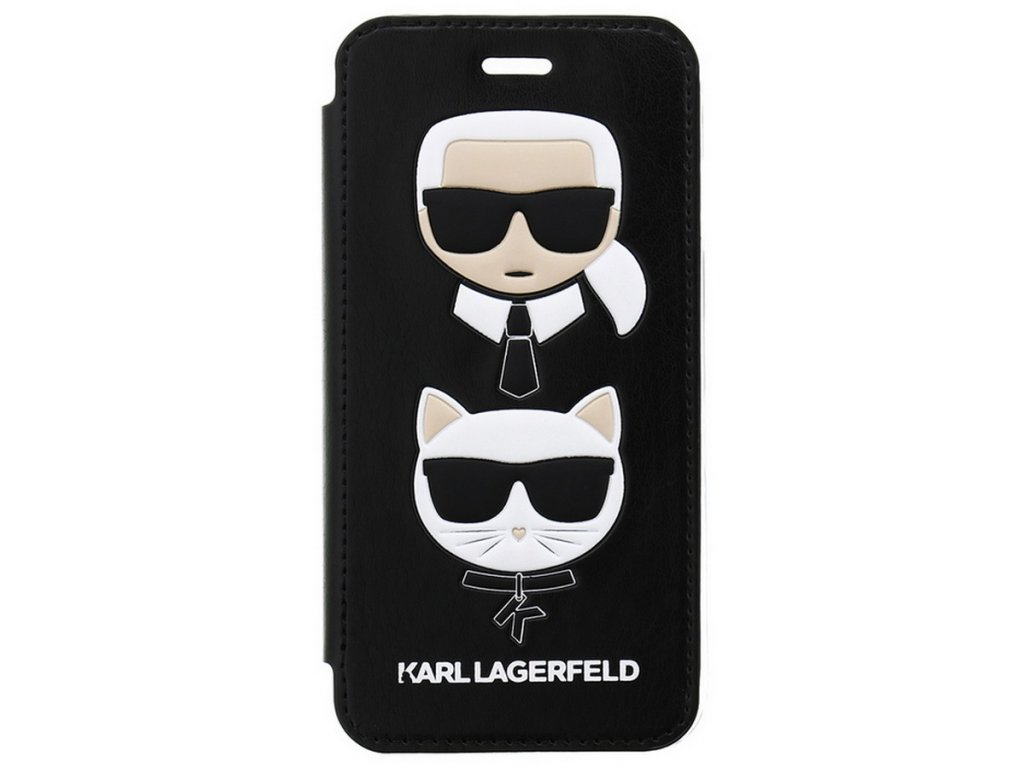 Karl Lagerfeld Karl and Choupette Book iPhone 7/8