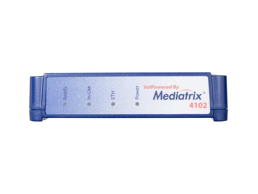 Mediatrix 4102 - 2 Port Analogue interface adapter