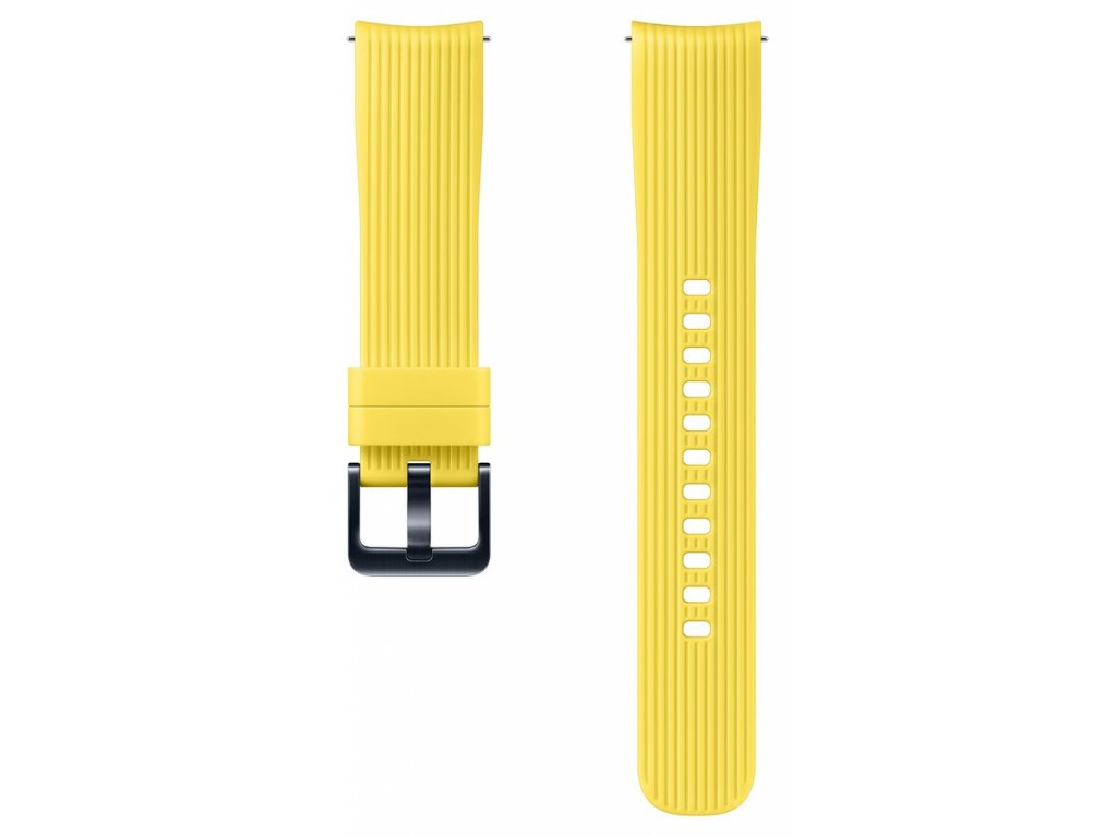 Samsung ET-YSU81MY Silicone Band Gal. Watch,Yellow