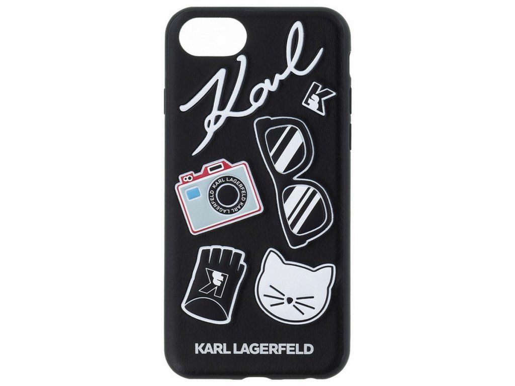 Karl Lagerfeld Pins Hard Case Black iPhone 7/8