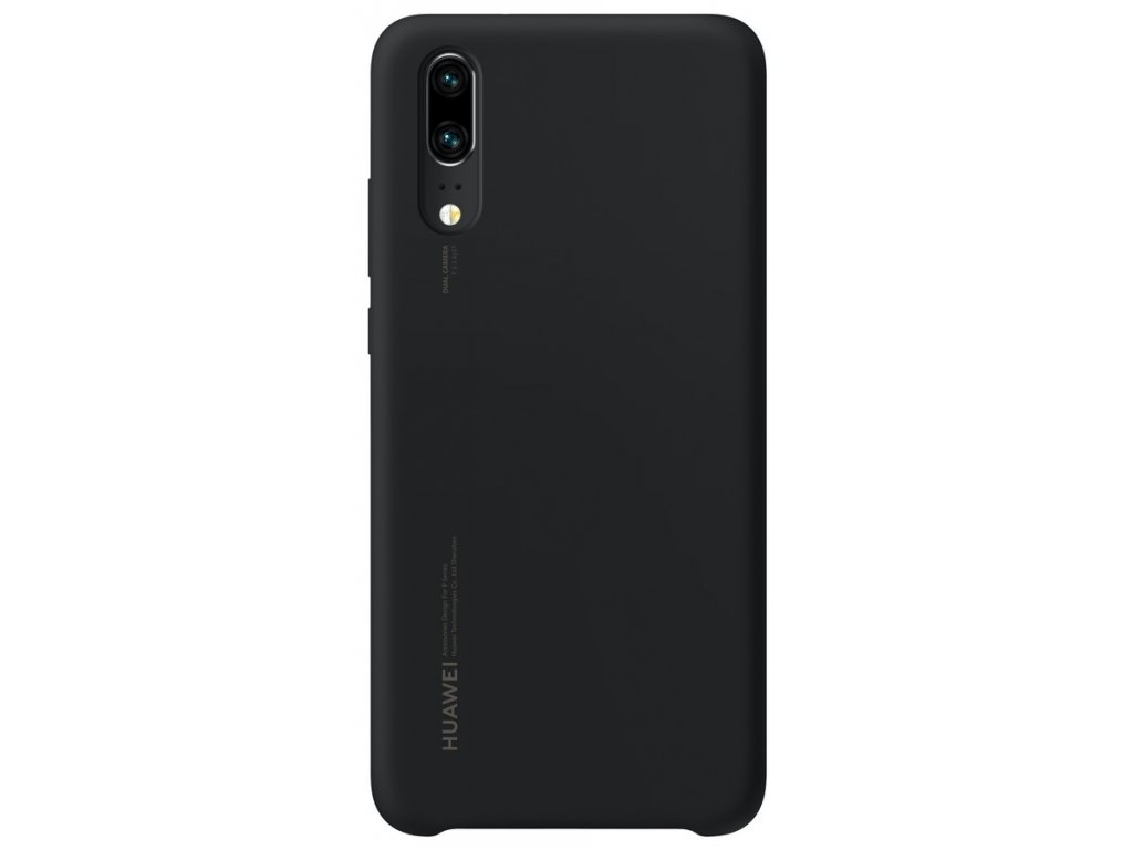 Huawei P20 Silicon Case Black