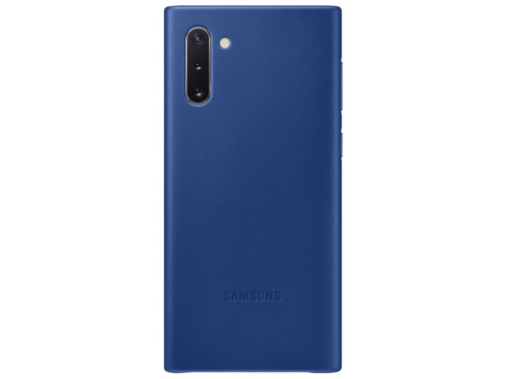 Samsung EF-VN970LL Leather Cover Note10, Blue