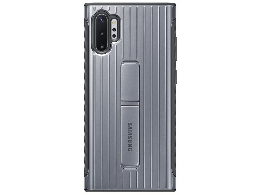 Samsung EF-RN975CS Standing Cover Note10+, Silver