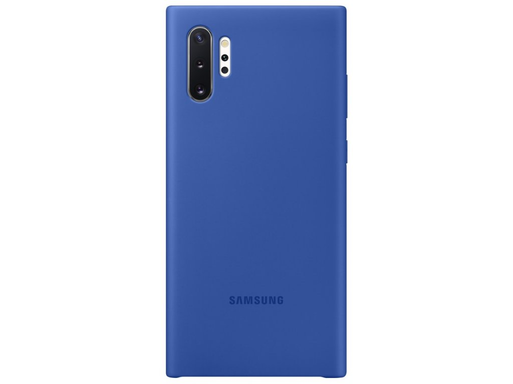 Samsung EF-PN975TL Silicone Cover Note10+, Blue