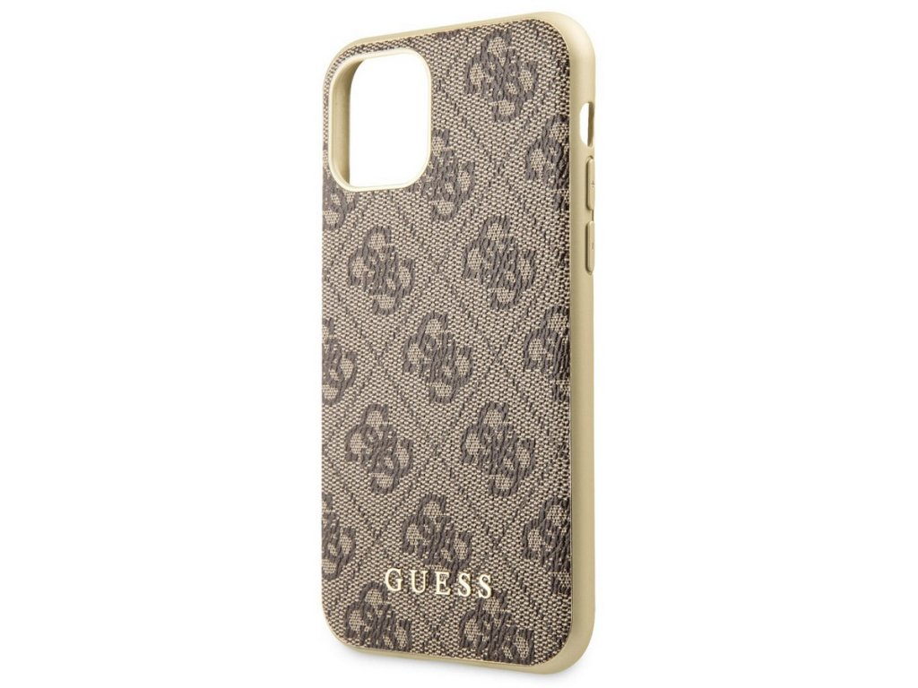 Guess Charms Hard Case 4G iPhone 11, Brown