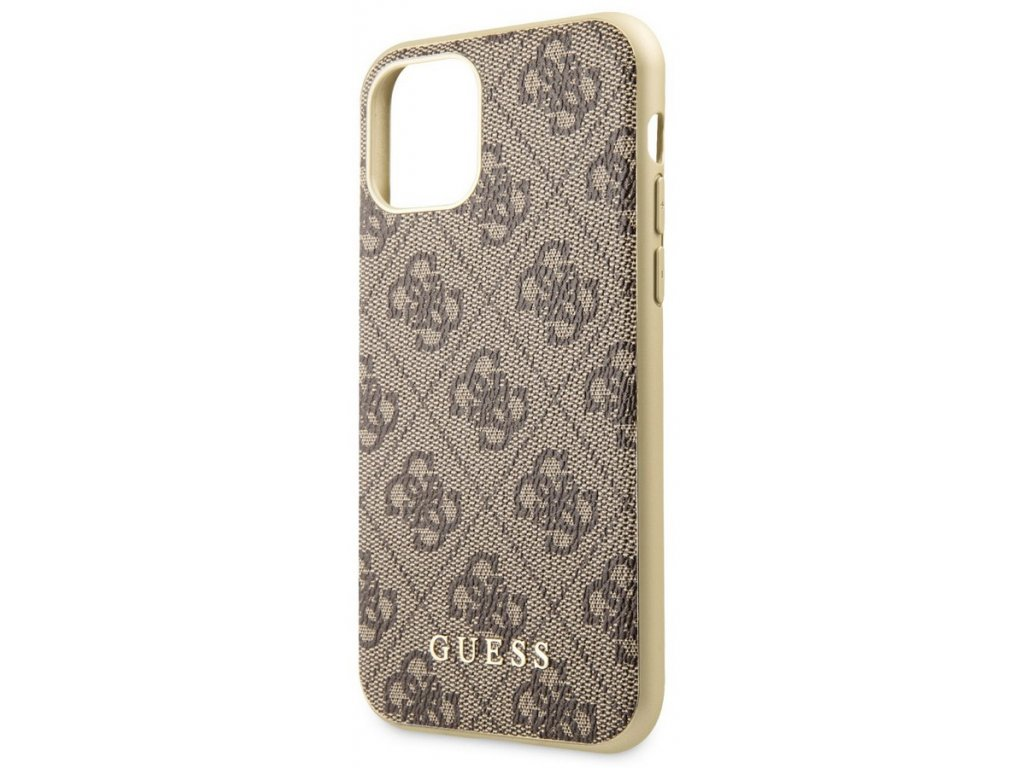 Guess Charms Hard Case 4G iPhone 11 Pro Max, Brown