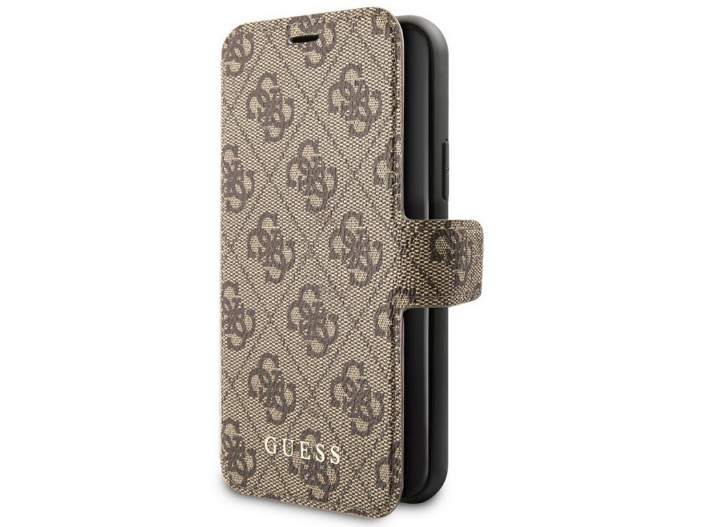 Guess Charms Book Case 4G iPhone 11 Pro Max, Brown