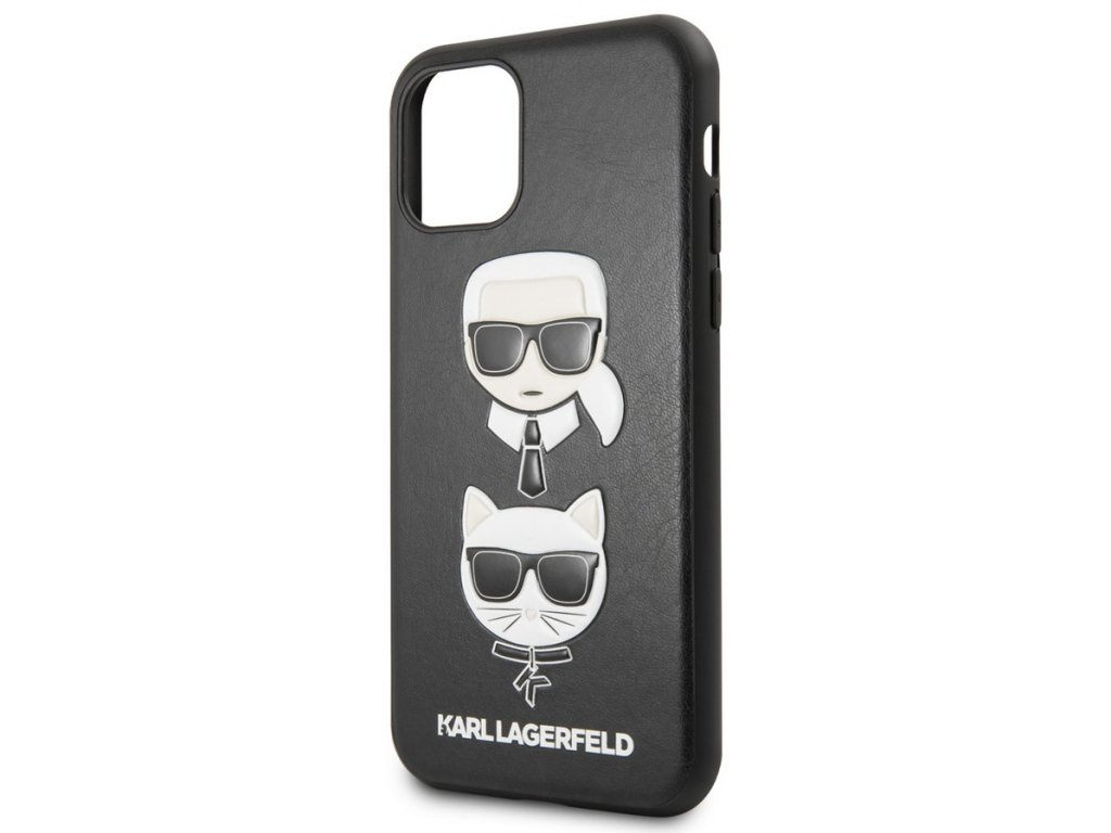 Karl Lagerfeld Karl&Choupette Case iPhone 11,Black
