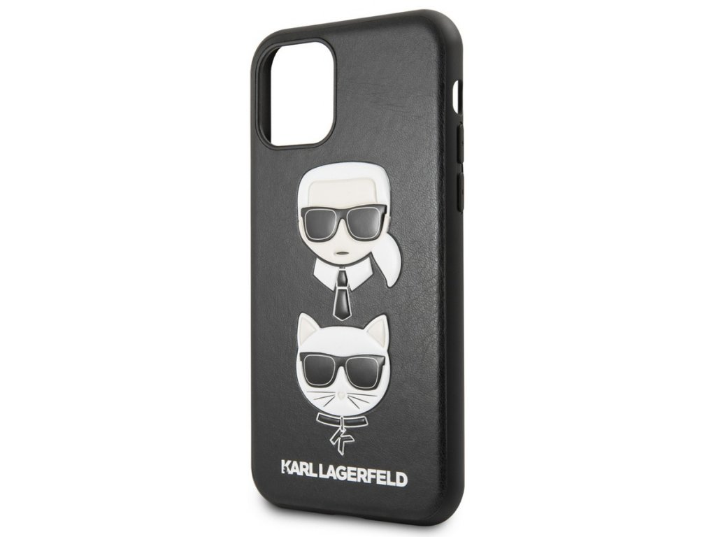 Karl Lagerfeld Karl&Ch. Case iPhone 11 Pro, Black