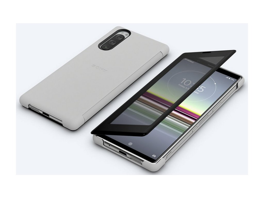 Sony SCVJ10 Style Cover View Xperia 5, Grey