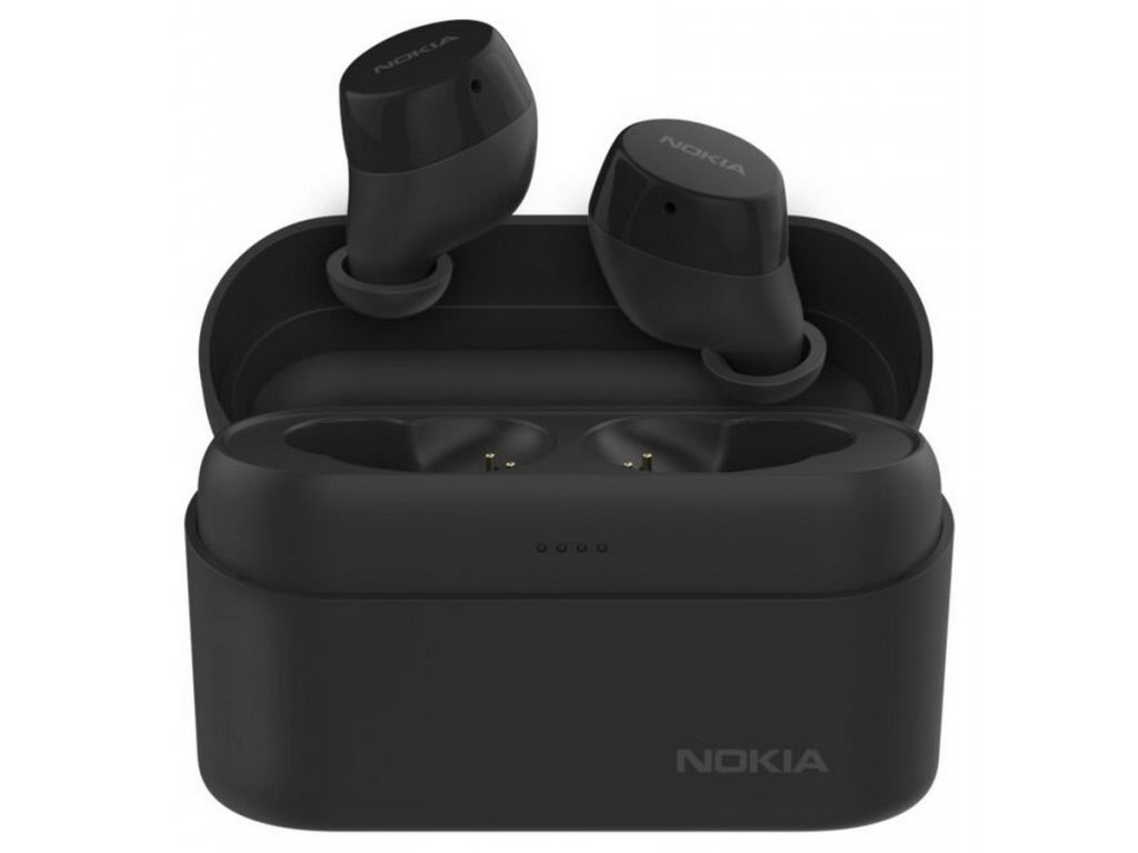 Nokia BH-605 Power Earbuds, Charcoal Black