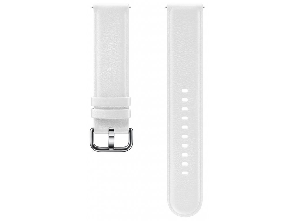 Samsung ET-SLR82MW Watch Active2 LeatherBand,White