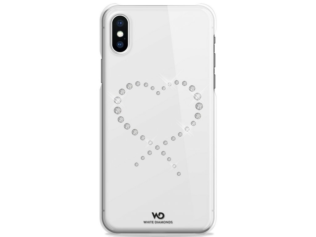WD Eternity Crystal Case iPhone XS/X - průhledné