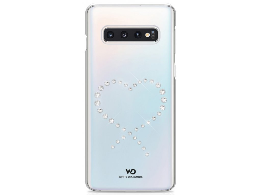 WD Eternity Crystal Case Galaxy S10+ - průhledné