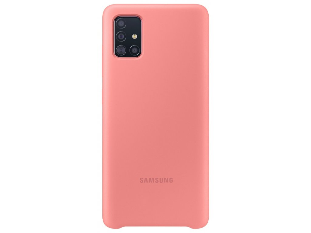 Samsung EF-PA515TP Silicone Cover Galaxy A51, Pink