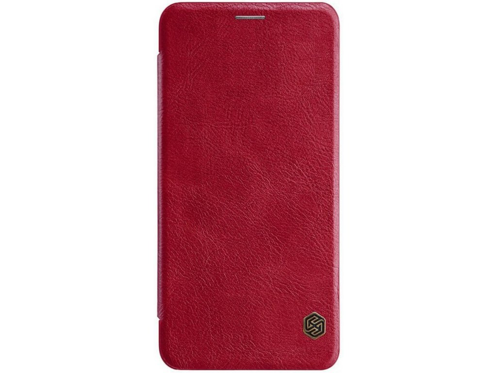 Nillkin Qin Book pouzdro Xiaomi Redmi Note 8T, Red