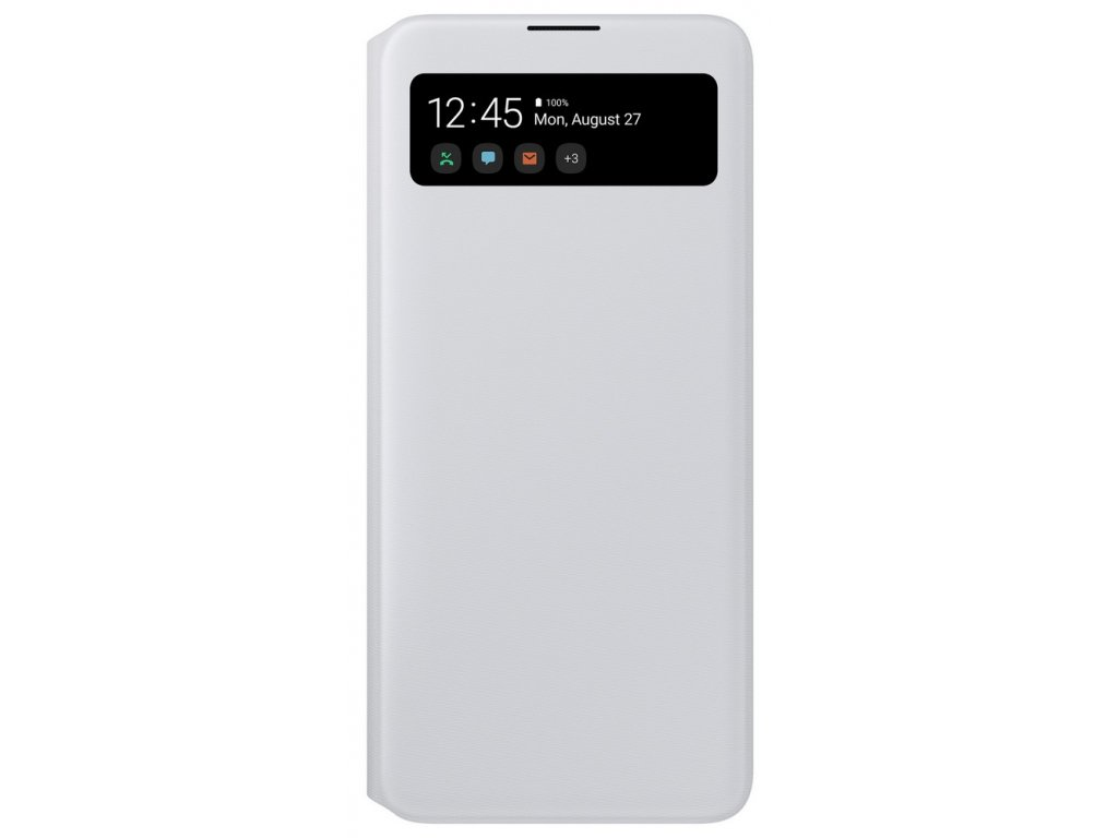 Samsung EF-EA715PW S View Wallet Galaxy A71, White