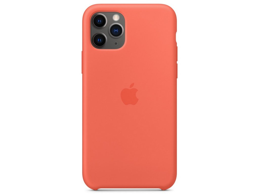 iPhone 11 Pro Silicone Case - Clementine (Orange)