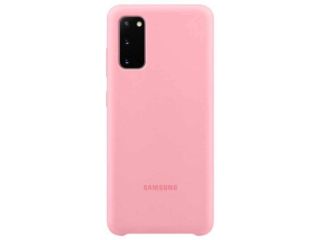Samsung EF-PG980TP SiliconeCover Galaxy S20, Pink