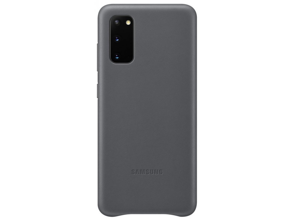 Samsung EF-VG980LJ Leather Cover Galaxy S20, Gray