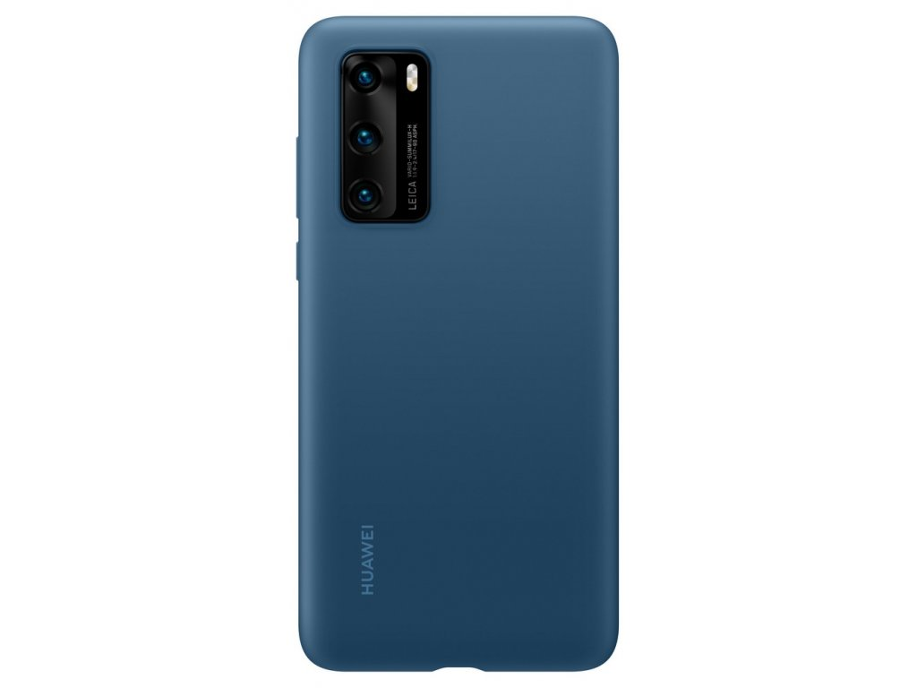 Huawei P40 Silicone Case Blue