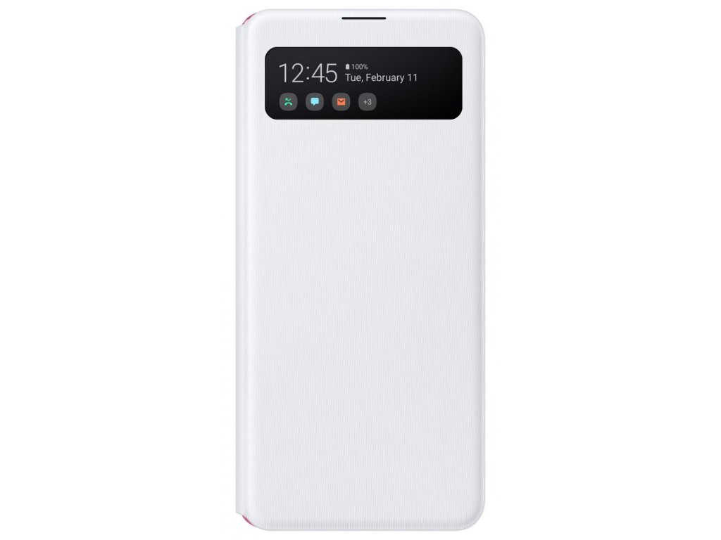 Samsung EF-EA415PW S View Wallet Galaxy A41, White