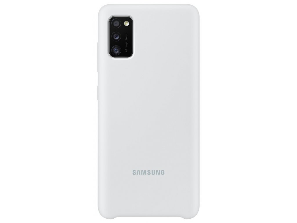 Samsung EF-PA415TW Silicone Cover Galaxy A41,White