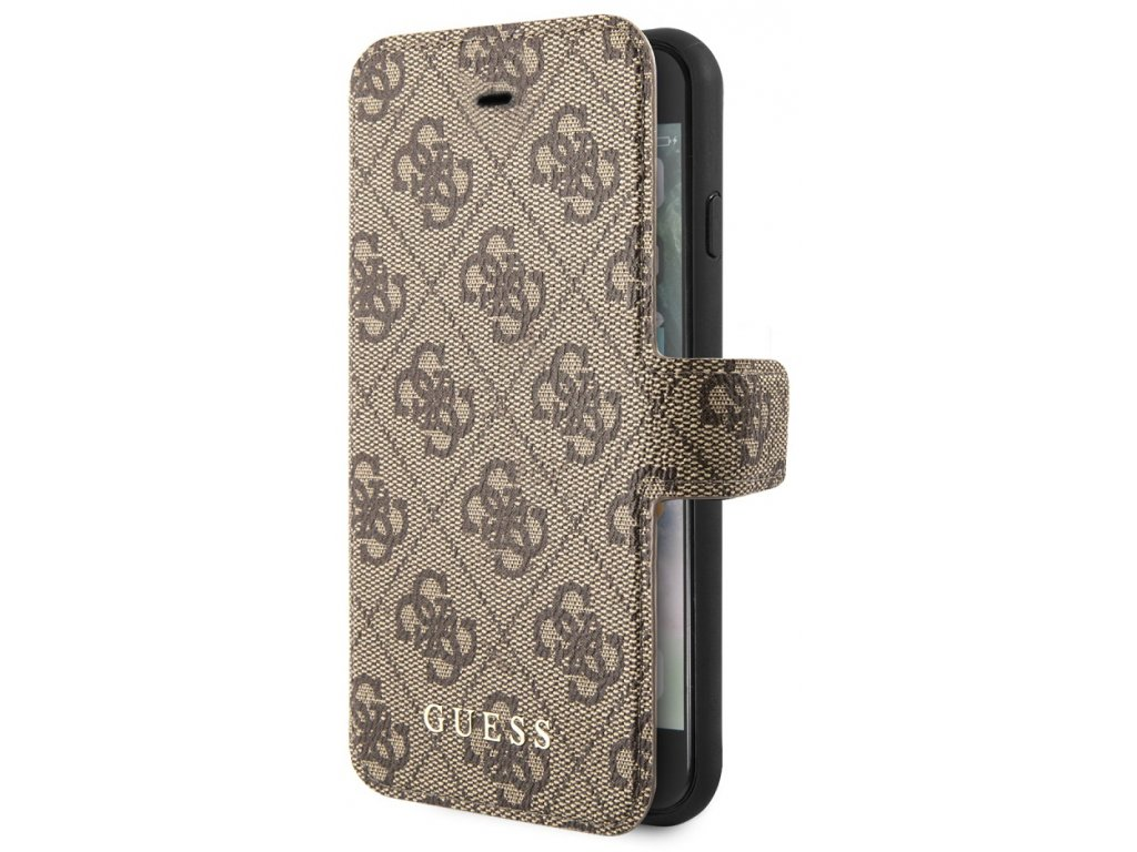 Guess Charms Book Case 4G iPhone 7/8/SE2, Brown