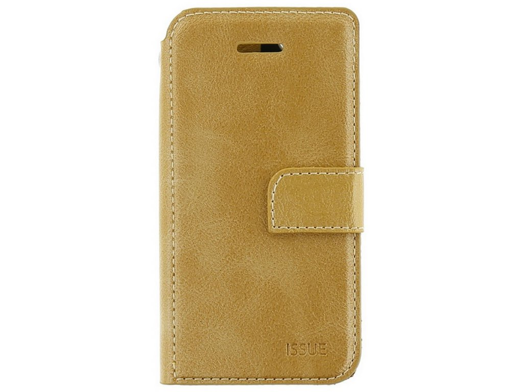 Molan Cano Issue Book pouzdro Huawei Y5p, Gold