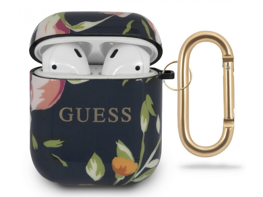 Guess TPU Case Apple Airpods, Floral No.3