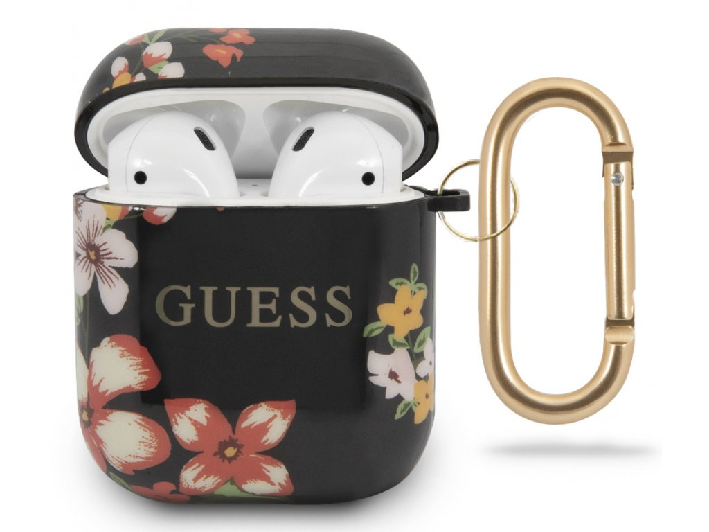 Guess TPU Case Apple Airpods, Floral No.4