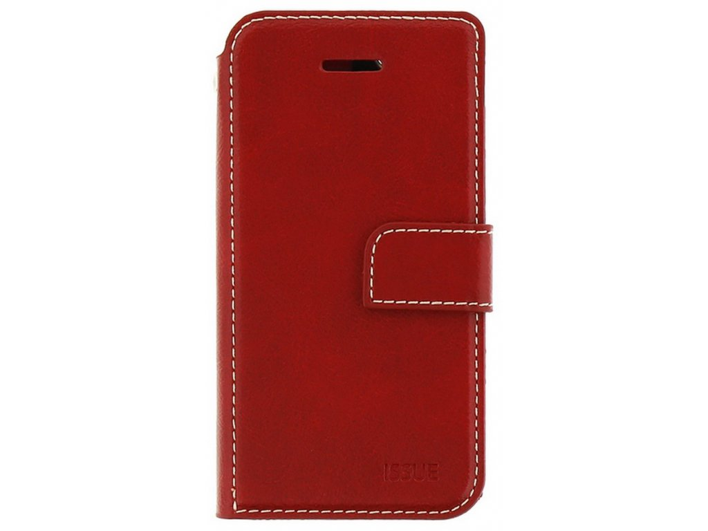Molan Cano Issue Book Samsung Galaxy A21s, Red