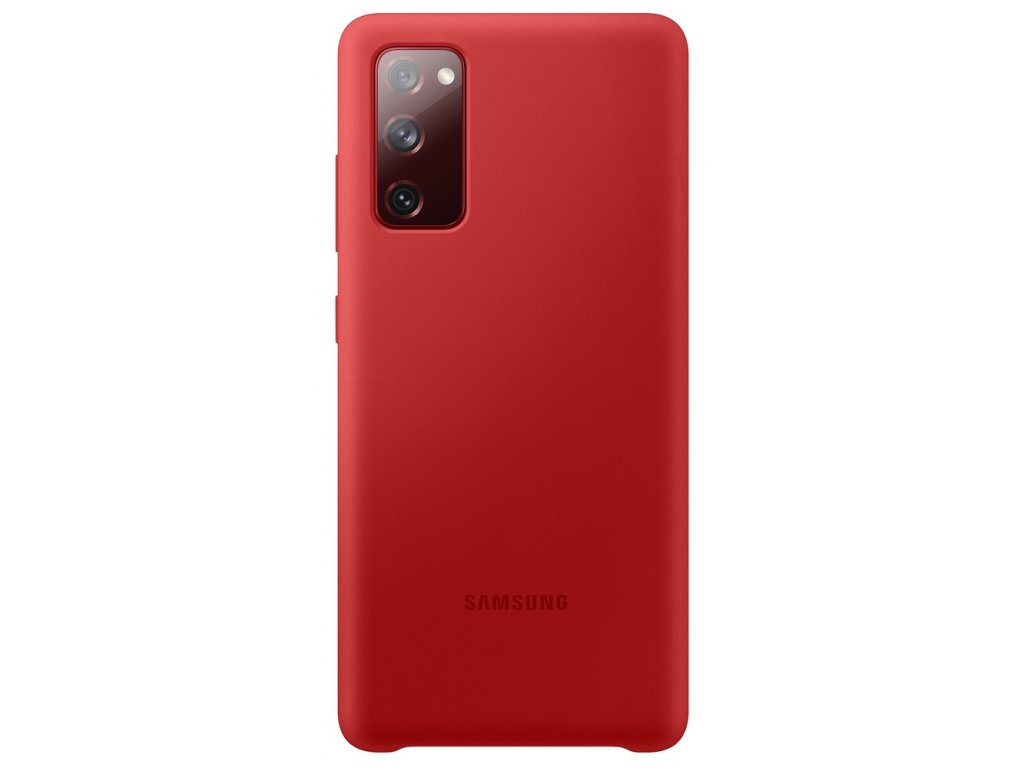 Samsung EF-PG780TV Silicone Cover S20 FE, Red