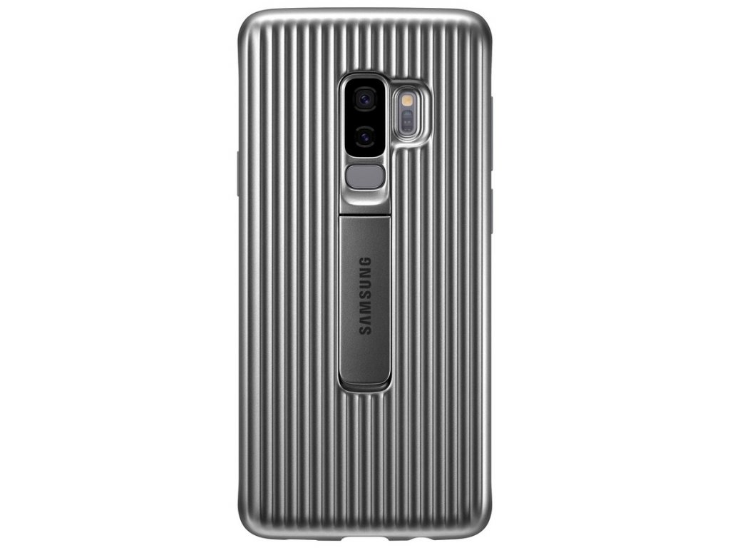 Samsung EF-RG965CS Standing Cover Galaxy S9+,Silve